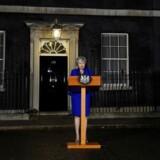 Theresa May fik et historisk stort nederlag i denne uge, da hendes Brexit-aftale blev stemt ned. Foto: Clodagh Kilcoyne/Reuters/Ritzau Scanpix