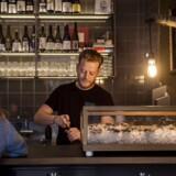 Rouge Oysters, vin- og østersbar på Gammel Kongevej.