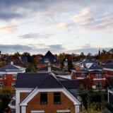 Boligejere afdrager mere end nogensinde på deres realkreditlån. Arkivfoto af boligkvarter på Frederiksberg.