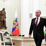 Vladimir Putins popularitet var på sit højeste i 2015, da han netop havde underskrevet en traktat, der godkendte annekteringen af Krim.