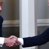 Donald Trump og Vladimir Putin.