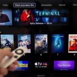 Danskerne kommer ifølge Dennis Christensen fremover til at bruge endnu mere tid på streamingtjenester som Spotify og Netflix. (Arkivfoto) Liselotte Sabroe/Ritzau Scanpix