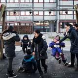 Omkring halvdelen af borgerne i Brøndby Strand, som billedet stammer fra, er ifølge Danmarks Statistik ikke af dansk oprindelse.