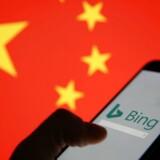 Microsoft søgemaskine Bing var torsdag utilgængelig i Kina i en kortere periode. Arkivfoto: Dado Ruvic, Reuters/Ritzau Scanpix