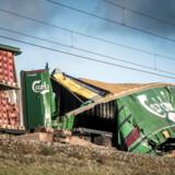 En ansat tillidsmand hos DB Cargo er suspenderet for, at have forsøgt at skjule en yngre kollegas navn på vognlisten over det godstog, der var involveret i ulykken på Storebælt 2. januar.