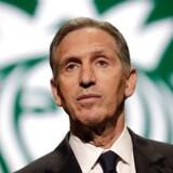 Den tidligere Starbucks-chef Howard Schultz betegner sig selv som »livslang Demokrat« og overveje at stille op til det næste præsidentvalg. Som uafhængig kandidat.