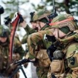 Soldater under NATO-øvelsen Trident Juncture i Nordnorge i oktober og november sidste år. Det er på tide, at vi europæere betaler vores del af gildet.