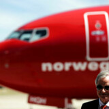 FILE PHOTO: Bjorn Kjos, CEO of Norwegian Group, speaks during the presentation of Norwegian Air first low cost transatlantic flight service from Argentina at Ezeiza airport in Buenos Aires, Argentina, March 8, 2018. REUTERS/Marcos Brindicci/File Photo