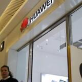 De amerikanske anklager mod den kinesiske telegigant Huawei blev offentliggjort mandag aften, lige før USA og Kina skal mødes til genforhandlinger i handelskrigen. Foto: Wu Hong, EPA/Scanpix