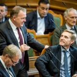 Kristian Thulesen Dahl erklærede sig tirsdag ikke bare begejstret for sidste uges socialdemokratiske pensionsudspil og valgoplæg, men opfordrede i samme åndedrag statsminister Lars Løkke Rasmussen (V) til hurtigst muligt at indkalde til forhandlinger om spørgsmålet inden folketingsvalget.