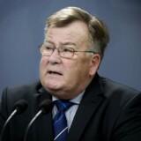 Forsvarsminister Claus Hjort Frederiksen har indgået en aftale, der tilfører det danske forsvar yderligere milliarder. Det sker efter pres fra præsident Trump. Arkivfoto: Liselotte Sabroe/Ritzau Scanpix
