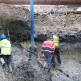 I forbindelse med udgravningen til den nye metrostation ved Trianglen på Østerbro er en ny mellemistid blevet afsløret. Joakim Stiel Korshøj, Geo/Free