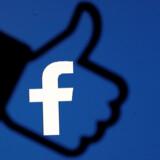 Investorerne giver Facebook et »thumbs up« efter et stærkt regnskab. Arkivfoto: Dado Ruvic/Ritzau Scanpix