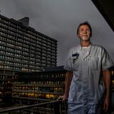 Klinikchef Jakob Trier Møller. Han har sagt sit job op på Rigshospitalet, fordi besparelserne har taget overhånd.