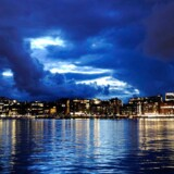 Billede fra 2010 af Oslos havnefront. Den nye universitetsbygning kommer til at blive opført i det centrale Oslo.