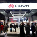 Foto af Huawei bod i Las Vegas.