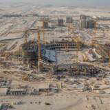 Siden stadionbyggerierne forud for fodbold-VM i Qatar i 2022 er blevet igangsat, er historierne om elendige arbejdsforhold for gæstearbejdere eksploderet. (Arkivfoto) Handout/Reuters