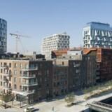 Det er som om der ikke skal være plads til andet end dyre boliger og pæne facader i fremtidens København. Her det nye Nordhavn.