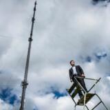 Teracom, som ejer hele danske radio- og TV-sendenet, har skruet op for datasikkerheden, og administerende direktør Martin Løbel vil have virksomhederne til at tage anderledes fat i selv at sikre sig internt ved at se på medarbejdernes arbejdsgange og foretage løbende risikovurderinger. Arkivfoto: Asger Ladefoged