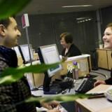 ARKIVFOTO: Bankunddannede er blandt dem med længst anciennitet på arbejdsmarkedet.