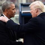 »Modsat Obama kan Trump godt lide at handle. Trump synes mere at være typen, der tænker: Jeg placerer lige en håndgranat på bordet, og så ser jeg, hvad der sker, når jeg trækker splitten ud,« skriver Mads Fuglede. Arkivfoto: Saul Loeb/AFP/Ritzau Scanpix