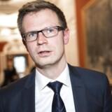 Benny Engelbrecht, finansordfører i Socialdemokratiet, ser ingen grund til at afhænde statslige selskaber nu og her. Foto: David Leth Williams/Scanpix 2015