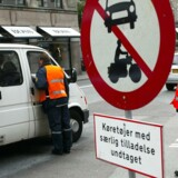 Bilfri dag i middelalderbyen i København. Et flertal på rådhuset ønsker at gøre den permanent.
