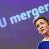 EU-s konkurrencekommissær Margrethe Vestager afviste tidligere på måneden en fusion mellem franske Alstom og tyske Siemens togforretninger.