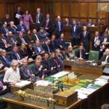 Arkiv. Det britiske parlament.