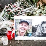 I dagene efter drabene på 24-årige Louisa Vesterager Jespersen og 28-årige Maren Ueland forsøgte de danske myndigheder at få stoppet spredningen af to videoklip, der angiveligt viste henrettelsen af en af de unge kvinder og gerningsmændene, som svor troskab til Islamisk Stat.