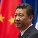 Kinas præsident, Xi Jinping.