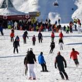 Foto af skisportsstedet Val Thorens i Frankrig.