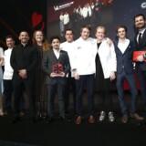 Michelin-modtagerne hyldes til uddelingen i Musikhuset Aarhus.