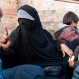 En unavngiven fransk kvinde, der er flygtet fra det sidste Islamisk Stat-kontrollerede område i det østlige Syrien sammen med sine børn, læser lektien for nyhedsbureauet AFP. Men kan man stole på de angrende jihadister?