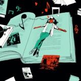 »I musikafdelingen sad jeg med høretelefoner og hørte LPer med a-ha, som jeg ikke havde råd til. Overvåget af musikbibliotekar Jørgen, der altid udleverede pladerne til en 13-årig pige med et smil,« skriver Lone Theils om barndommens bibliotek.