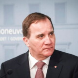 epa07328854 Swedish Prime Minister Stefan Lofven holds a joint press conference with Finnish Prime Minister Juha Sipila (not pictured) after their meeting at the Finnish Government building, in Helsinki, Finland, 29 January 2019. EPA/KIMMO BRANDT