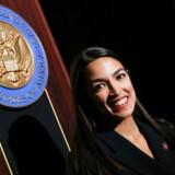 Nu bliver hun også til en tegneserie: Demokraten Alexandria Ocasio-Cortez fotograferet i Bronx, New York, tidligere på måneden.