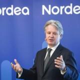 Bankerne har brug for hjælp til at bekæmpe hvidvask, siger Nordeas topchef Casper von Koskull i Børsen i dag. Foto: EPA/Kimmo Brandt/Ritzau Scanpix