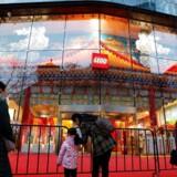 Lego satser stort på det kinesiske marked har og blandt andet netop åbnet denne nye butik i Beijing.