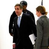 Michael Cohen er ankommet for at vidne mod Trump. REUTERS/Kevin Lamarque