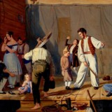 Guldaldermaleren Julius Friedländer malede genremalerier og var højt værdsat i perioden 1810-1848. Men senere kunsteksperter værdsatte ikke genremalerier, og derfor blev han frasorteret og havnede i Statens Museum for Kunsts magasiner.