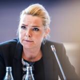 (ARKIV) Udlændinge- og integrationsminister Inger Støjberg (V) i samråd den 23. juni 2017. Et flertal vil nu have et alternativ til dyre, langsommelige undersøgelseskommissioner, når der skal placeres ansvar i politisk betændte sager. Det skriver Ritzau, torsdag den 21. februar 2019.. (Foto: Ida Marie Odgaard/Ritzau Scanpix)