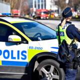Svensk politi og den svenske efterretningstjeneste har den seneste uge gennemført flere opsigtsvækkende aktioner i forbindelse med mistanke om spionage. Arkivfoto: Johan Nilsson/TT/Ritzau Scanpix
