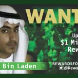 USA's udenrigsministerium har via twitter udsendt denne eftersøgning af Hamza bin Laden. Der er en dusør på en million dollar til dem, der kan lede til, at han fanges. Handout/Reuters