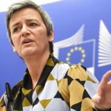 EU-kommissær Margrethe Vestager sender et klart signal til Merkel og Macron om ikke at blande sig i afgørelser på konkurrenceområdet. Det sker efter, at begge regeringsledere har brokket sig over, at hun afslog den tysk-franske togfusion.