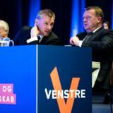 Statsminister Lars Løkke Rasmussen til EU-landsmøde i Bella Center 2. marts. Her plæderede han for en fælles europæisk bundgrænse for satser for selskabsbeskatning.