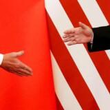 En afslutning af handelskrigen mellem Kina og USA kan være på vej, men kinesernes store teknologiplan »Made in China 2025« giver stadig problemer. Arkivfoto: Damir Sagolj/Reuters/Ritzau Scanpix