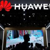 Huawei vil ifølge kilder i denne uge anlægge sag mod USA for forbuddet mod at bruge selskabets mobiludstyr. Arkivfoto: Aly Song, Reuters/Ritzau Scanpix