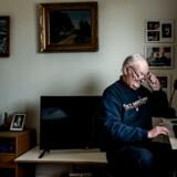 Torsten Hansborg, pensionist i Vedbæk, ville ikke tøve med at bede sin voksne søn køre sig til undersøgelse eller behandling, såfremt han fik brug for dette.