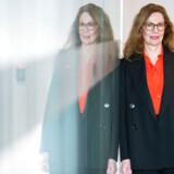 Birgitte Bonnesen, CEO for svenske Swedbank, har ændret attitude i sin kommunikation om bankens mulige involvering i hvidvask.